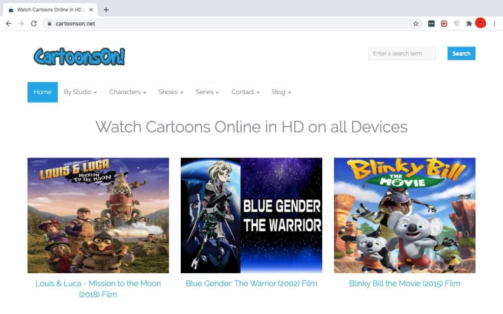Best Websites To  Watch Cartoons For Free; Cartoons On