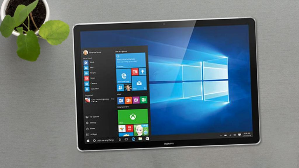 Features Of Windows 11 - Tablet Mode