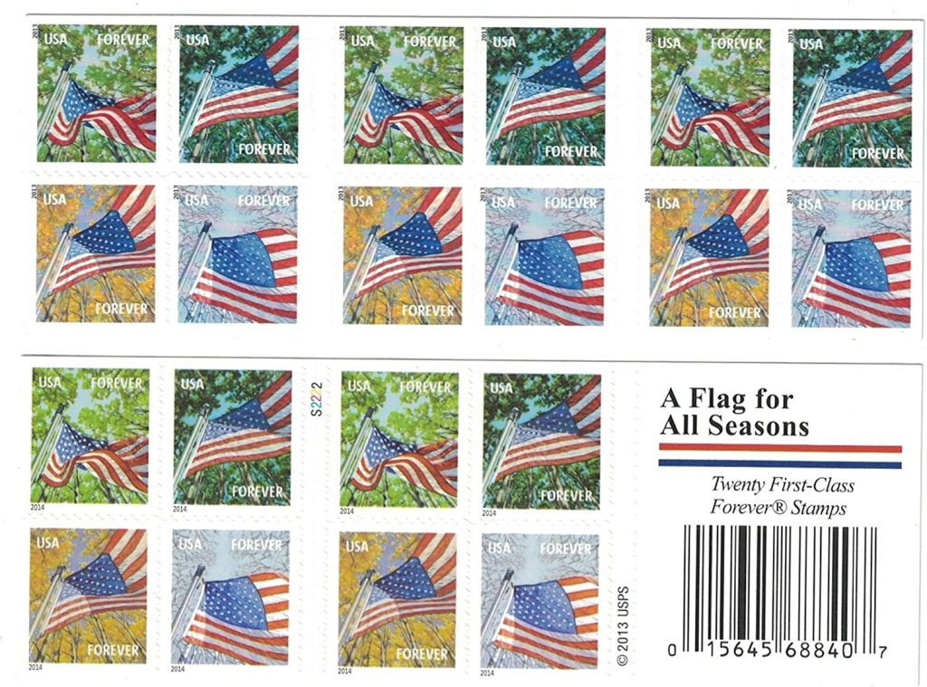 Book of Stamps; How much is a Book of Forever Stamps