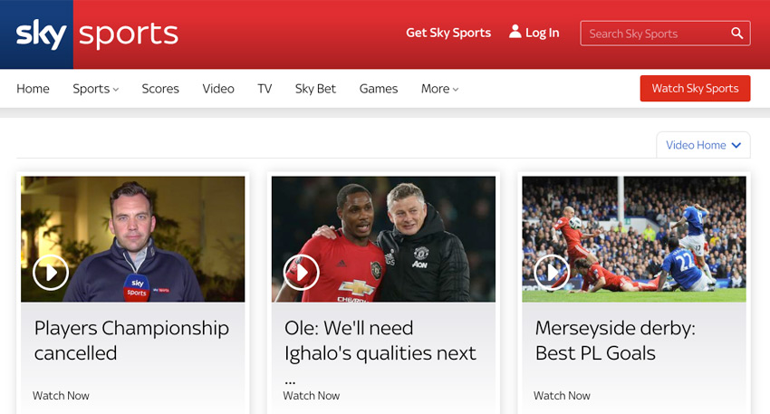 Free Football Streaming Sites - Sky Sports