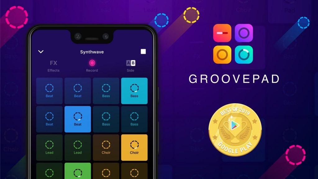Beat-Making Apps; Groovepad - Music and Beat Maker