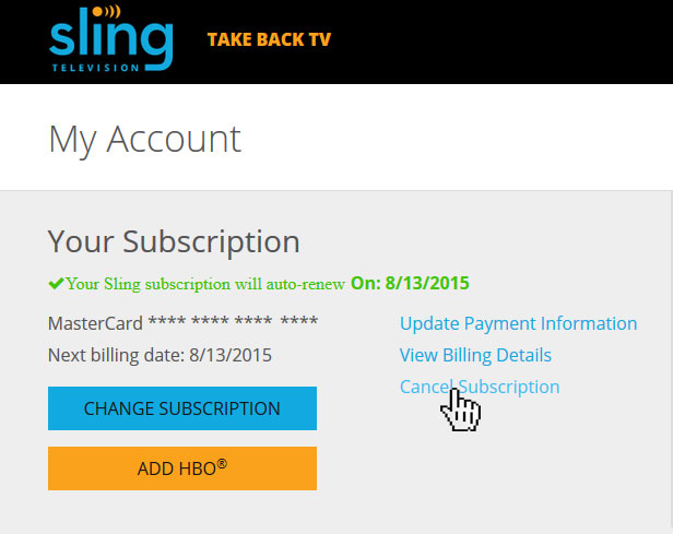 How To Cancel Sling TV Subscription; How To Cancel Sling TV Subscription