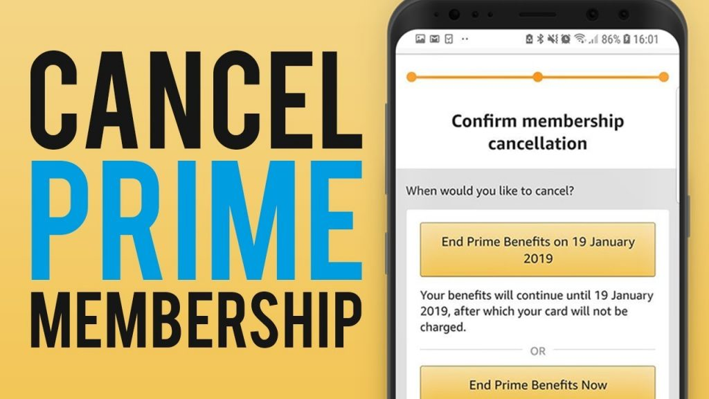 How To Cancel Your Amazon Prime Membership - Mobile