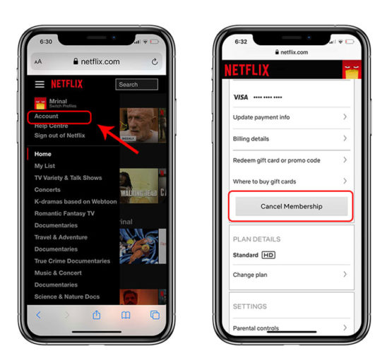 How To Cancel Your Netflix Subscription on Android and iOS