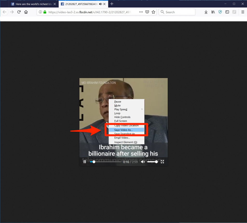 How To Download Embedded Video From The Website
