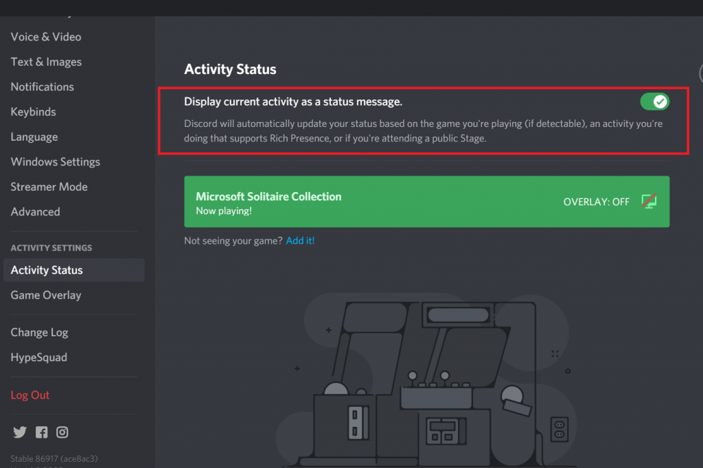 How To Remove Playing Status In Discord