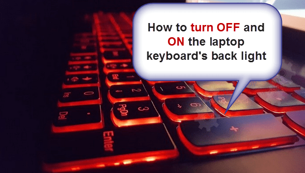 How To Turn On Keyboard Light