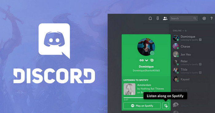 How to share Spotify Music in Discord