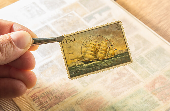 Book of Stamps; Most Valuable U.S. Stamps
