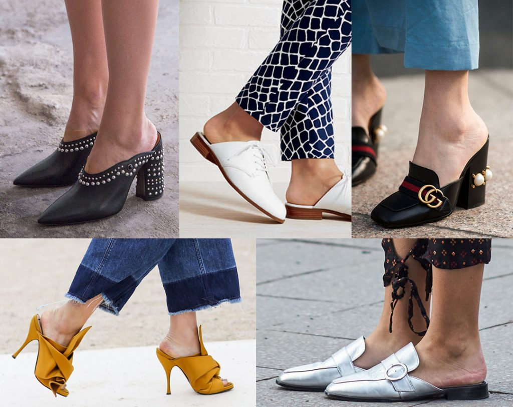 Summer Shoe Trends ; Mules
