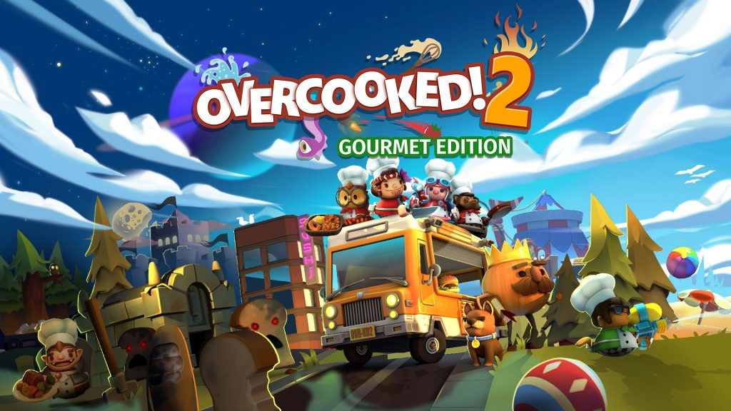 Xbox Games For Girls : Overcooked 2