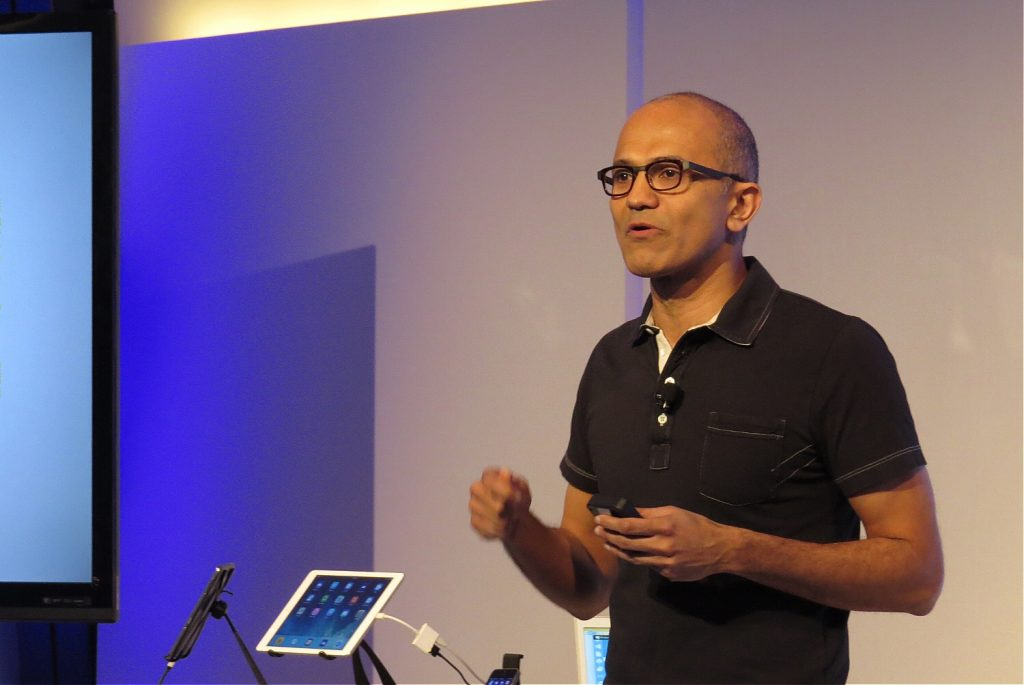 Richest Indian CEOs In The World - Satya Nadella