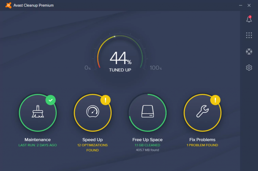 Avast Cleanup Review; Automatic Maintenance