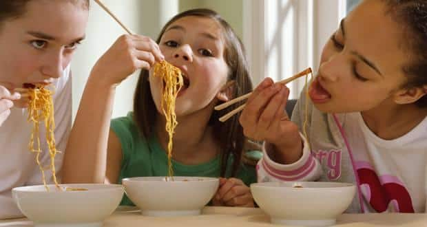 Side Effects of Eating Noodles Every Day