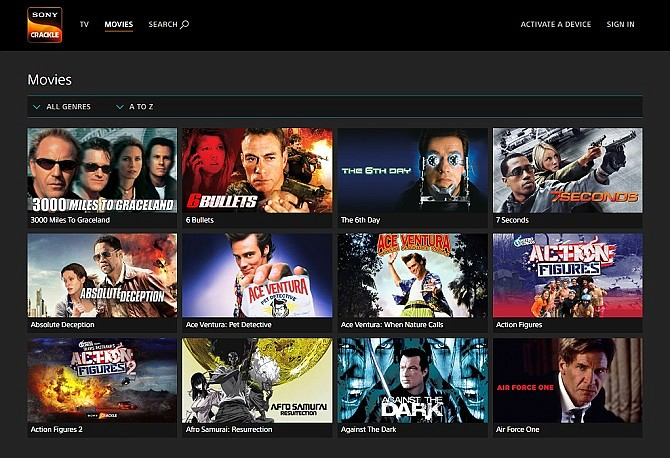 Sites Like 123movies To Stream Online - Crackle