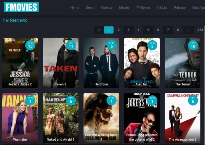 Sites Like 123movies To Stream Online - FMovies