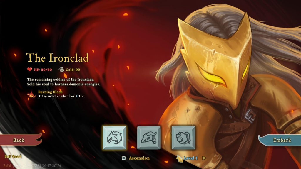 Slay The Spire Roguelike's 4 Characters; The Ironclad