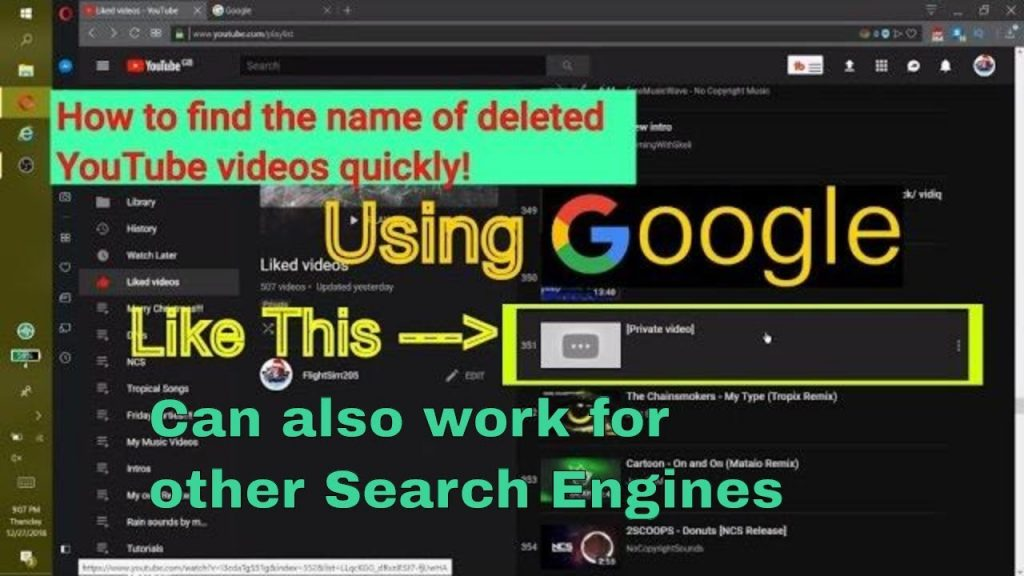 Watch Deleted YouTube Videos; Watch Deleted YouTube Videos With URL