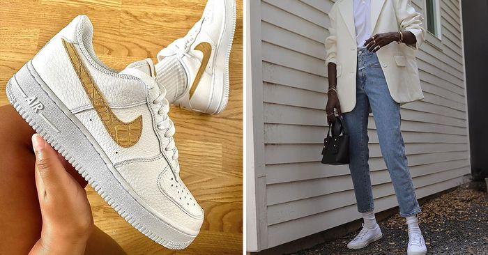 Summer Shoe Trends ; White Sneakers