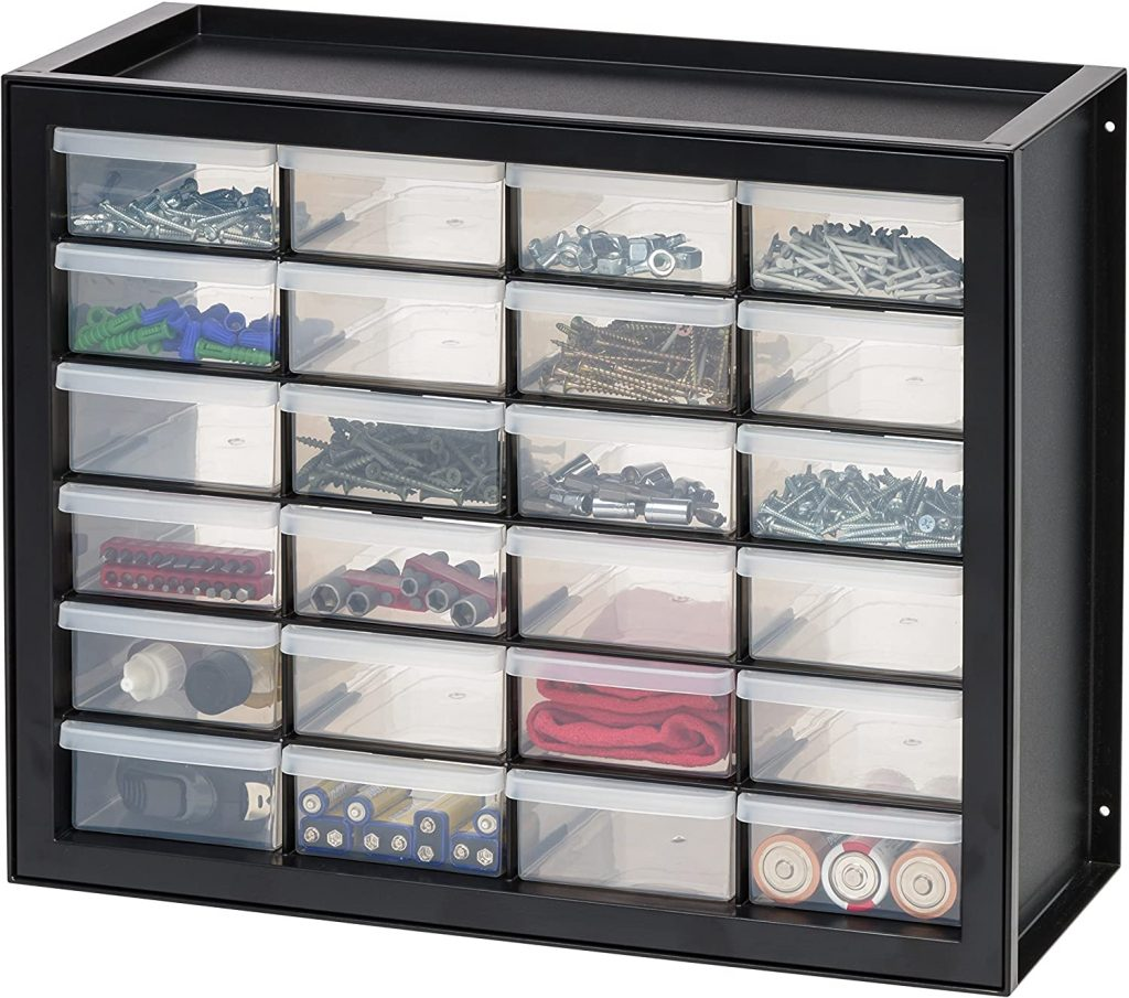 Best Organizing Products ; 24-Drawer Plastic Storage Cabinet