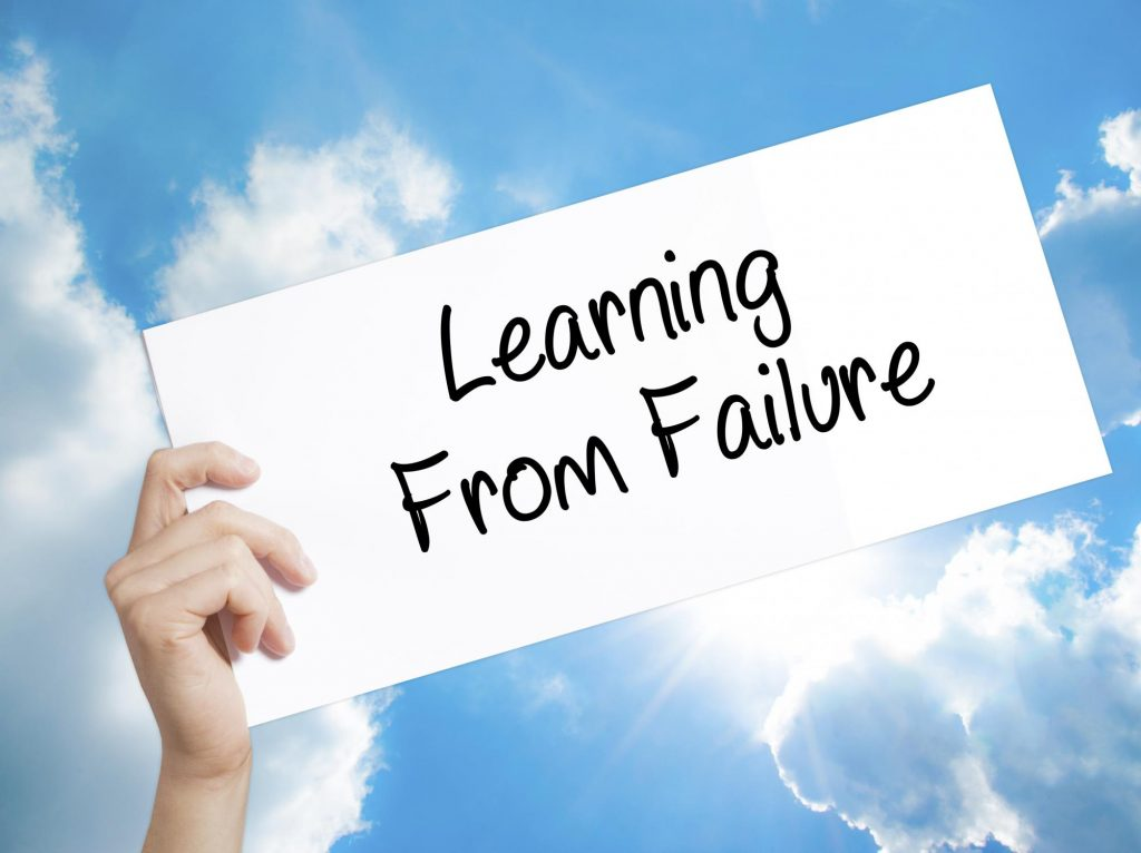 Important Ingredients For A Healthy Lifestyle; Accept Your Failures As Part Of The Process