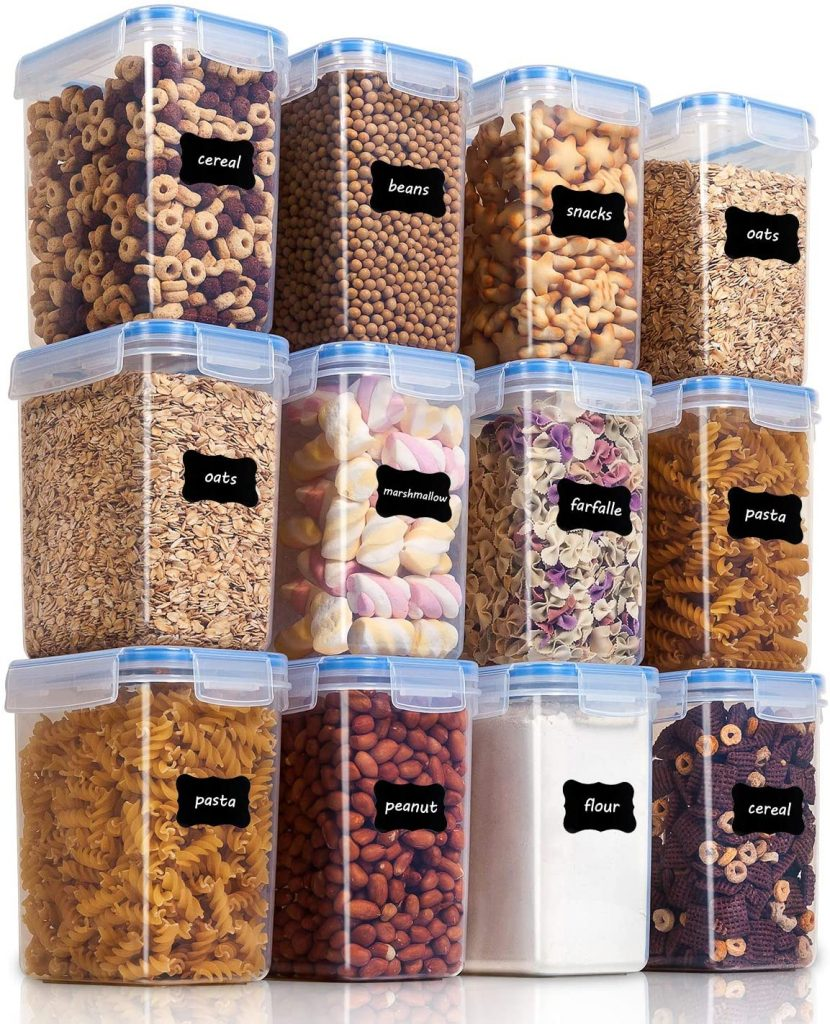 Best Organizing Products; Airtight Food Storage Containers