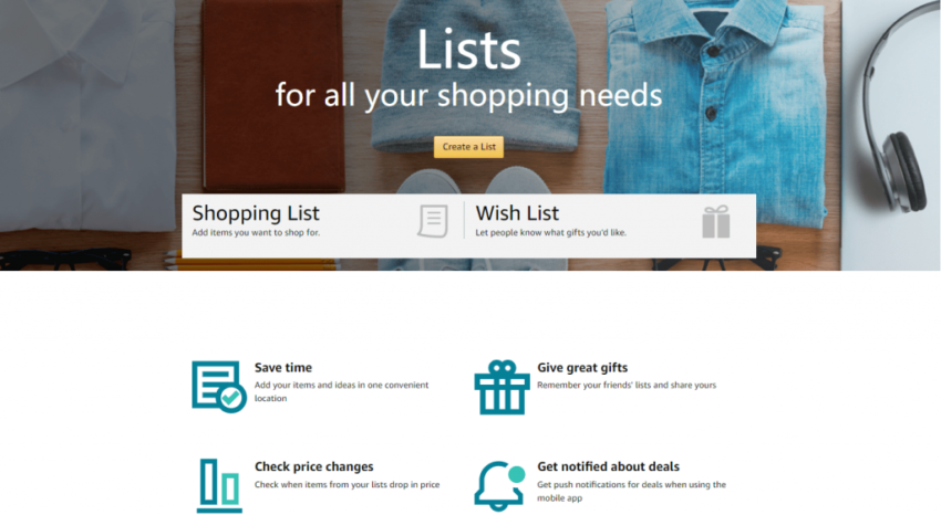 Create, Share and Collaborate On Amazon Wish Lists