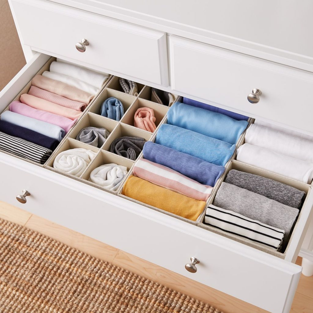 Products For Your Bedroom On Amazon; Drawer Organizer