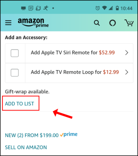 Share and Collaborate On Amazon Wish Lists; How To Add To an Amazon Wiss list