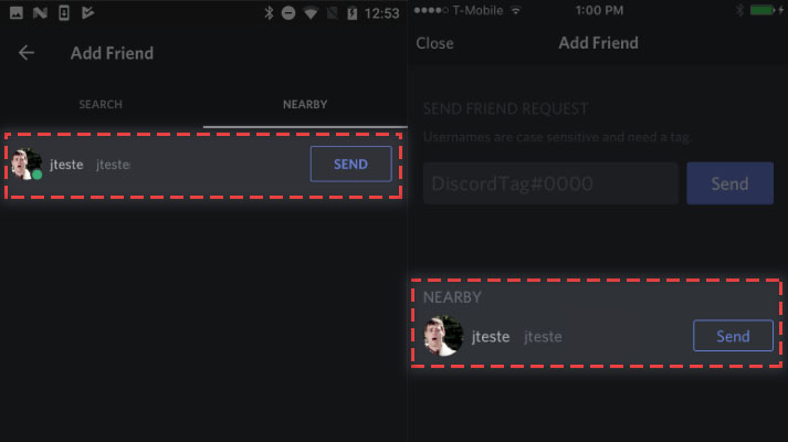 How To Find Someone On Discord By Nearby Scan