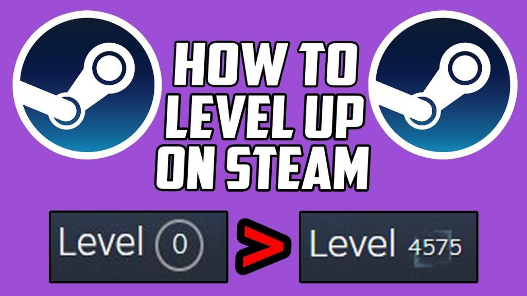 How To Level Up On Steam For Free