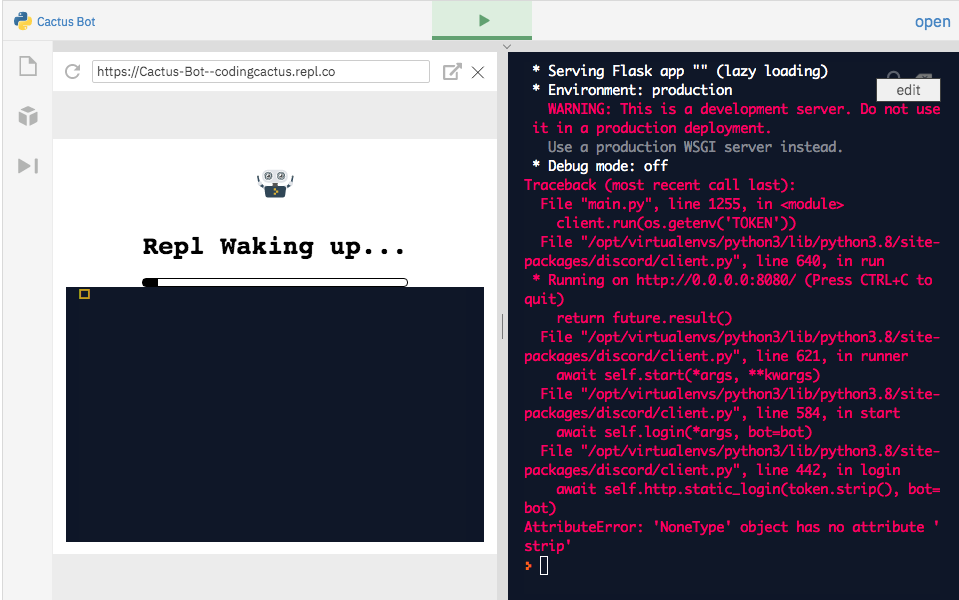 How To Make Discord Bot Using Repl And Discod