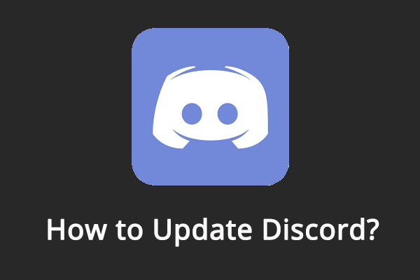 How To Update Discord