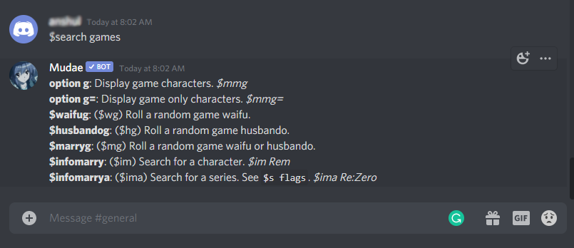 How To Use Mudae Bot Discord