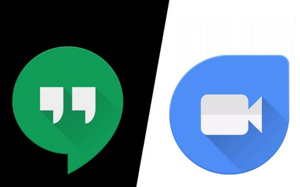 How are Google Duo and Hangouts Similar