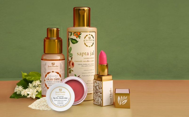 Top Beauty Brands In India; just herbs