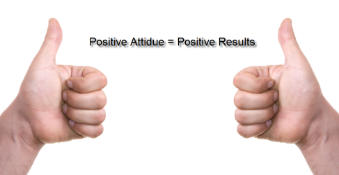 Important Ingredients For A Healthy Lifestyle; Positive Thinking Equals Positive Results!