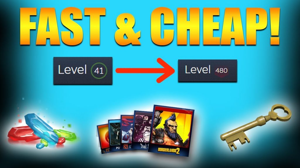 How To Level Up On Steam; Quickest Way To Earn XP
