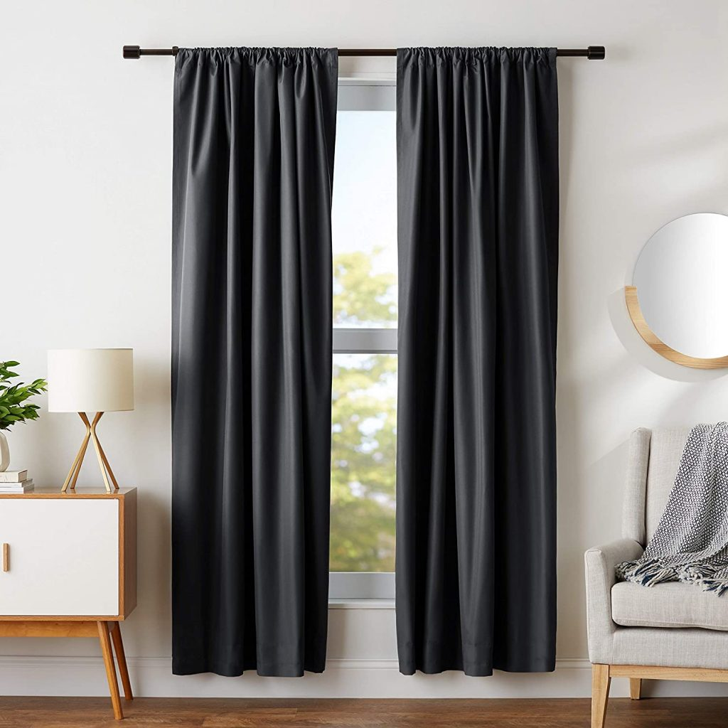 Products For Your Bedroom On Amazon; Set of Blackout Curtains