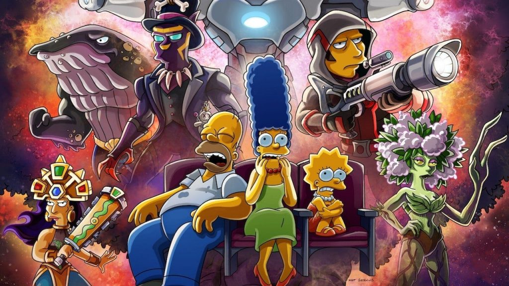 The Simpsons is Taking On The MCU