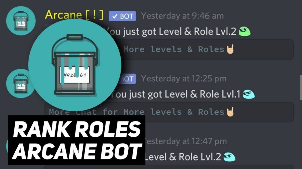 How to Use Arcane Bot Discord; Top Features Of Arcane Bot