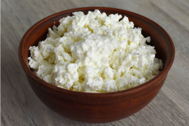 foods that look gross but tastes good; cottage cheese