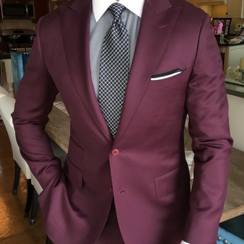 colors that go with burgundy