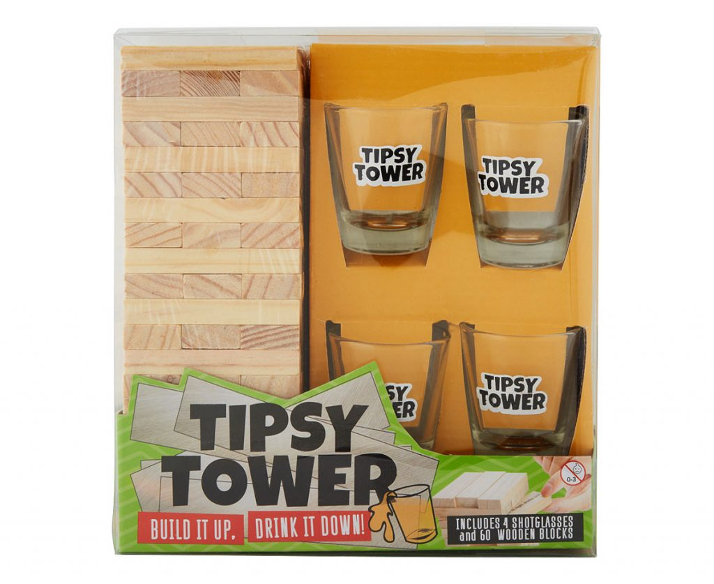 tipsy tower game