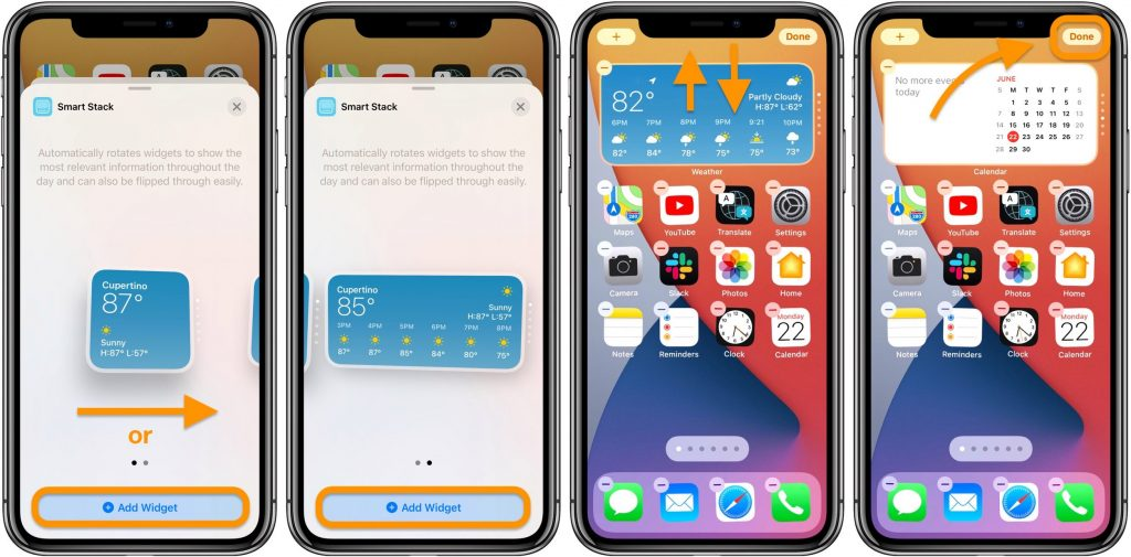Add Widgets To The iPhone Home Screen Layout