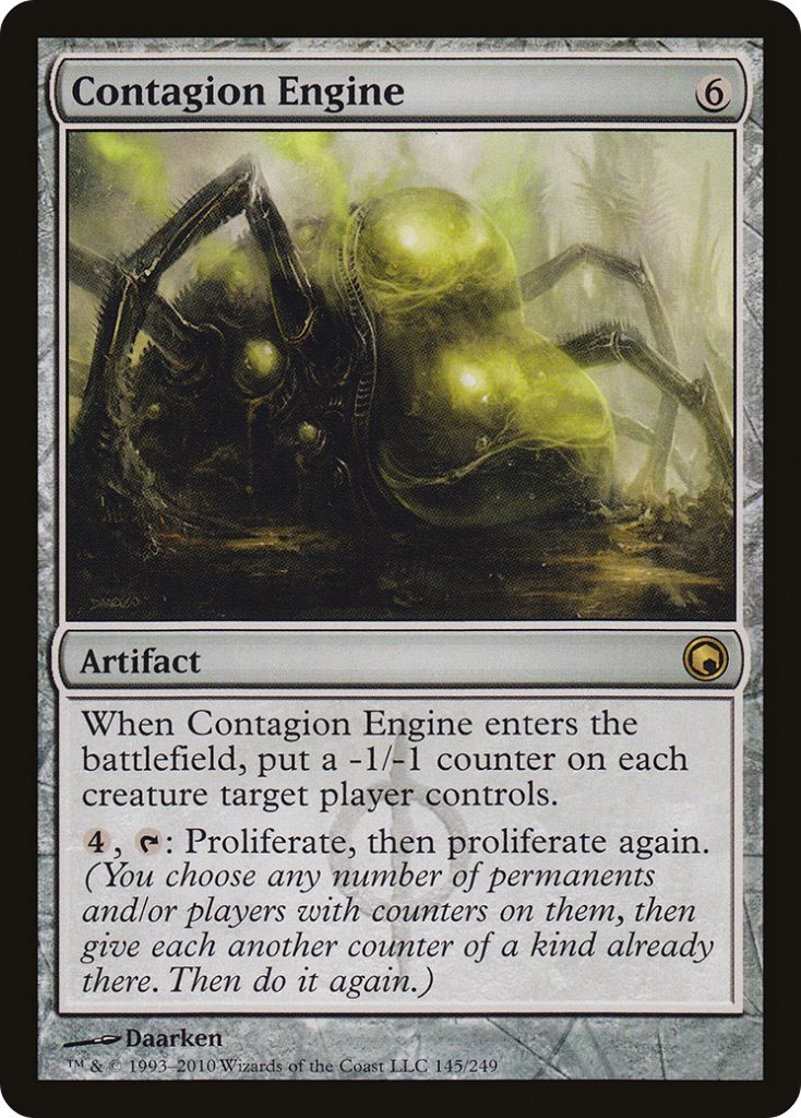 Best Proliferate cards; Contagion Engine