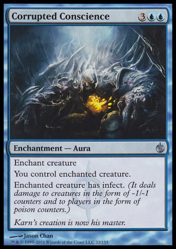 Infect Cards MTG; Corrupted Conscience