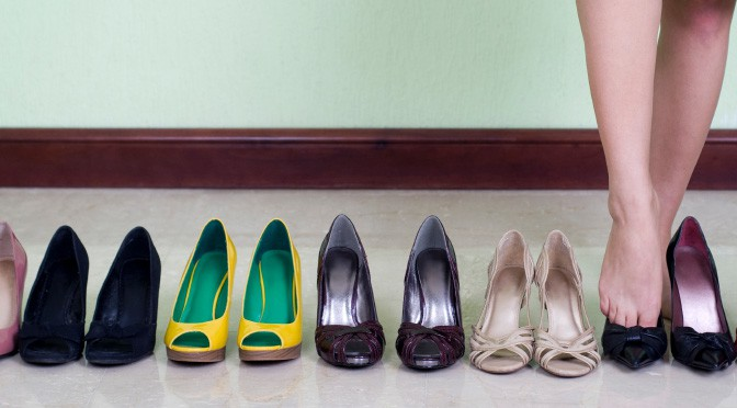 Casual Shoes For Businesswomen; Court Shoes For Casual Business