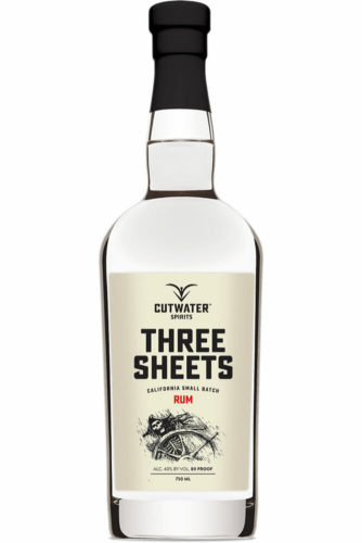 White Rum For Mojitos; Cutwater Three Sheets Rum