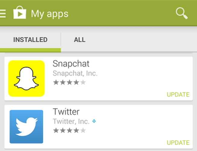 Fix Snapchat Notifications Not Working On Android - update snapchat